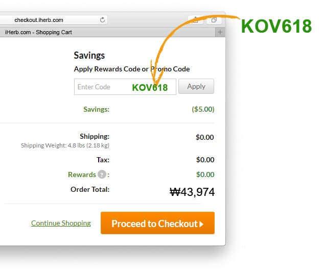 KR Promo Code KOV618