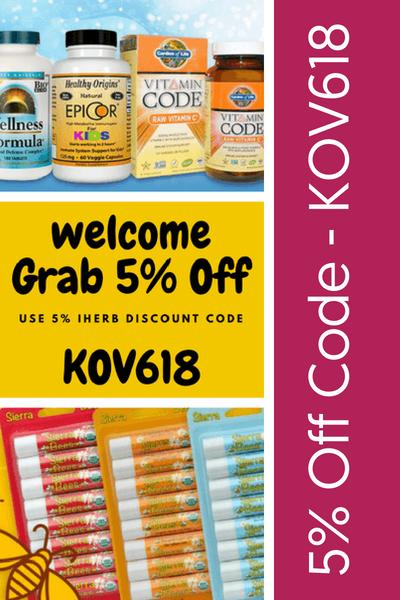 5% Off iHerb Code - KOV618