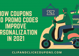 How Coupons and Promo Codes Improve Personalization in 2021