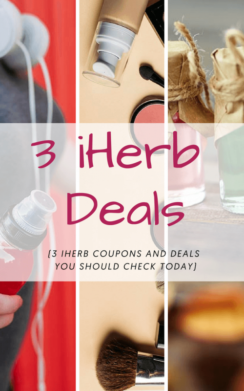 3 iHerb Coupons and Deals You Should Check Today